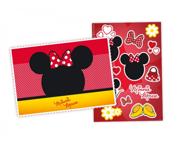 KIT ANIV DECORATIVO PAPEL - MINNIE