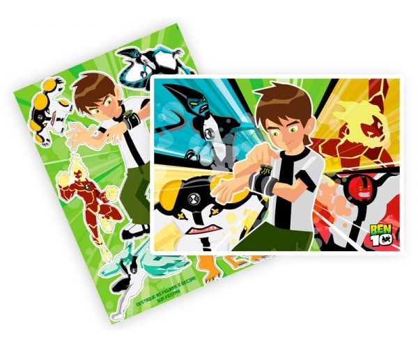 KIT ANIV DECORATIVO PAPEL - BEN 10