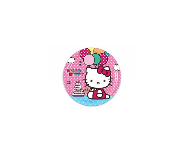 PRATO ANIV. C/8 - HELLO KITTY
