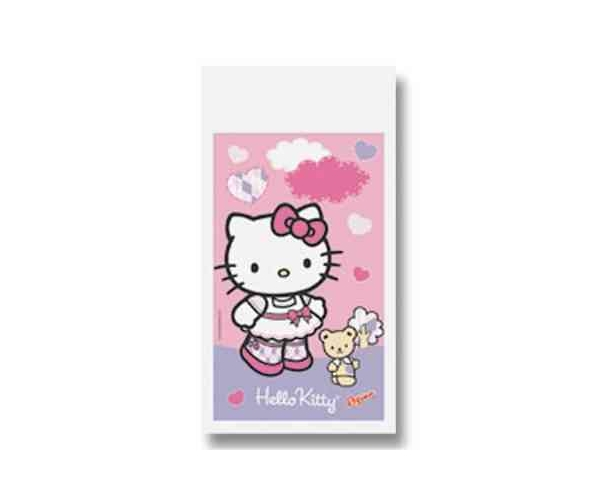 SACOLA SURP. PLAST C/08 - HELLO KITTY