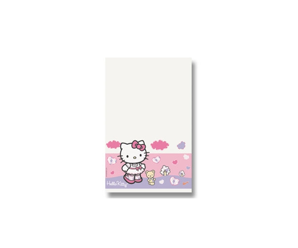 TOALHA PLAST ANIV 120X180 - HELLO KITTY