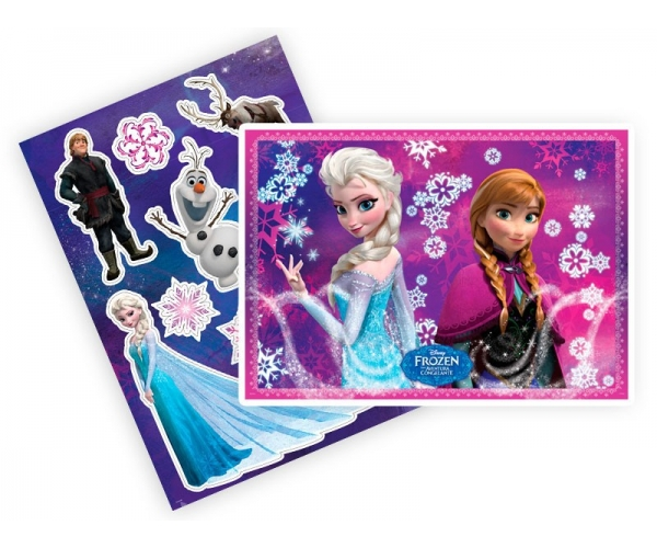 KIT ANIV DECORATIVO PAPEL - FROZEN